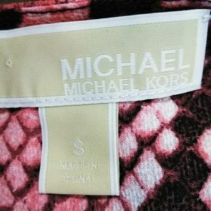 MICHAEL Michael Kors Tops - Michael Kors, snakeskin print Tunic